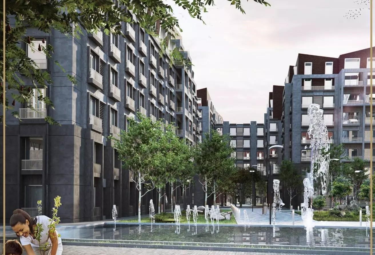 شقة للبيع 150 متر في باركلين العاصمة الادارية الجديدة
