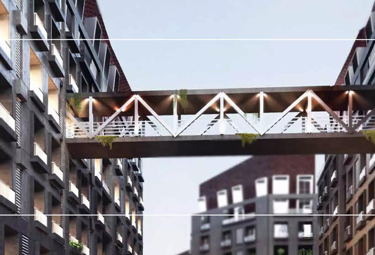 شقة للبيع 204 م + حديقة بقسط على 10 سنوات